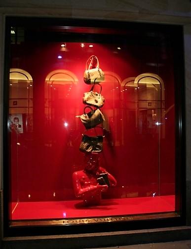 vitrine maroquinerie, Strasbourg