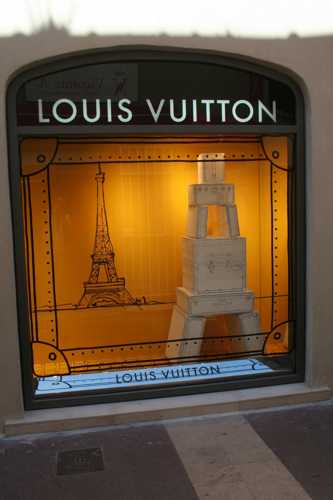 vitrine, Saint-Tropez